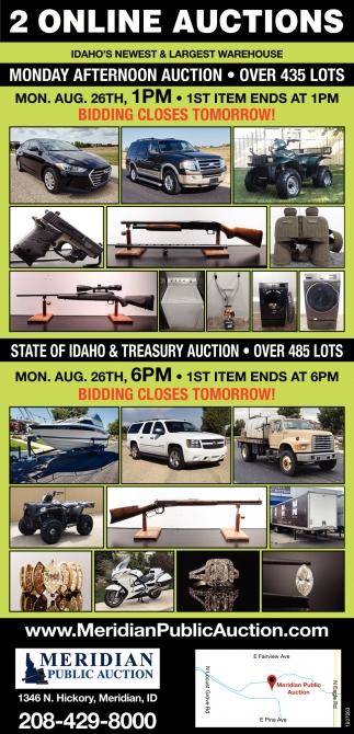 2 Online Auctions