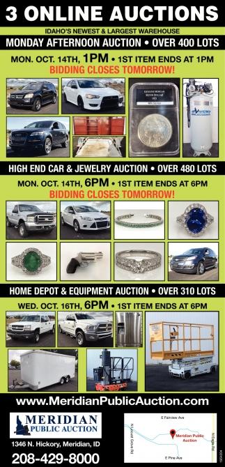 3 Online Auctions
